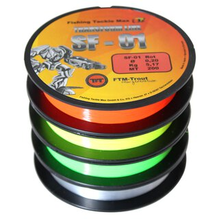 Transform Line Fluo Yellow Ø 0,20 200m NEU 2016
